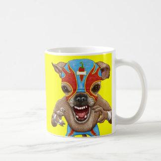 Chihuahua - luchador mexicano taza