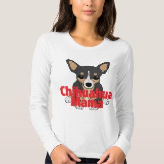 Chihuahua Mama Black Tan Tees