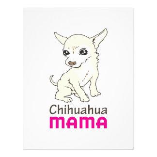CHIHUAHUA MAMA LETTERHEAD TEMPLATE
