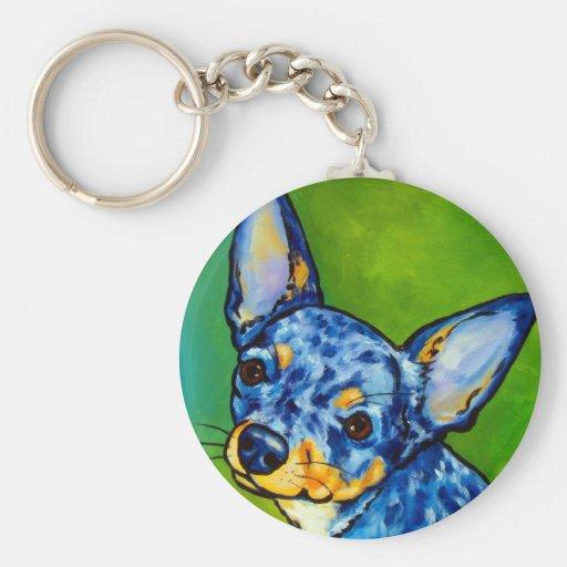Chihuahua Merle 2 Key Chains