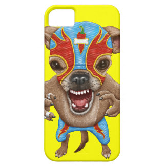 Chihuahua - Mexican wrestler iPhone SE/5/5s Case