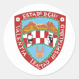 Chihuahua Mexico flag Stickers
