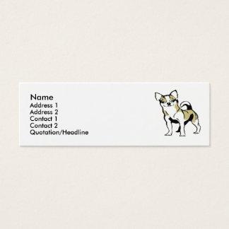Chihuahua Mini Business Card