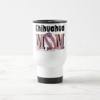 Chihuahua MOM 15 Oz Stainless Steel Travel Mug