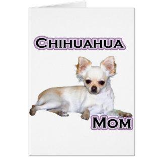 Chihuahua Mom 4 Card