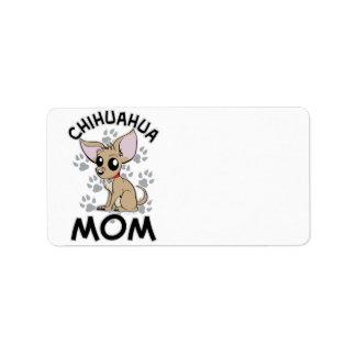 Chihuahua Mom Address Label