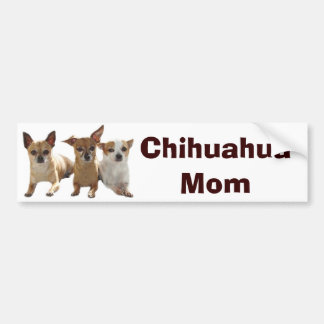 Chihuahua Mom Bumper Sticker