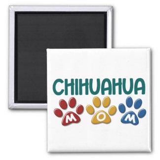 CHIHUAHUA Mom Paw Print 1 Refrigerator Magnets