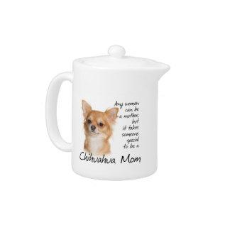 Chihuahua Mom Teapot at Zazzle