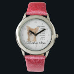 """Chihuahua Mom Watch<br><div class=""""desc"""">This watch is a fantastic gift for any Chihuahua Mom.</div>"""