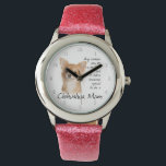 "Chihuahua Mom Watch<br><div class=""desc"">This watch is a fantastic gift for any Chihuahua Mom.</div>"