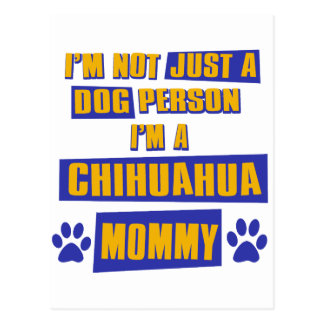 Chihuahua Mommy Postcard