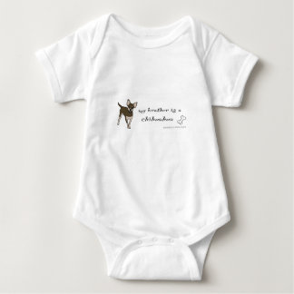 chihuahua - more breeds baby bodysuit