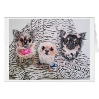 Chihuahua Notecards Greeting Cards