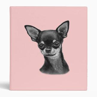 Chihuahua Painting Binder