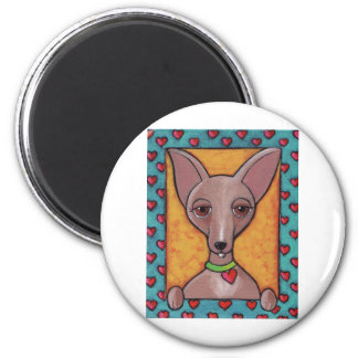 Chihuahua Painting Magnets