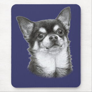 Chihuahua Painting Mouse Pad