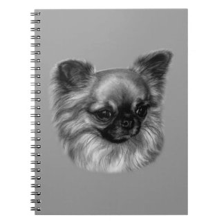Chihuahua Painting Spiral Notebook