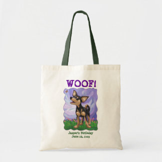 Chihuahua Party Center Tote Bag