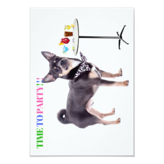 Chihuahua Party Invitations