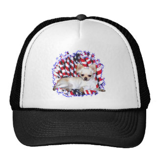 Chihuahua Patriot Trucker Hat