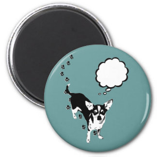 Chihuahua Pawprints Magnet