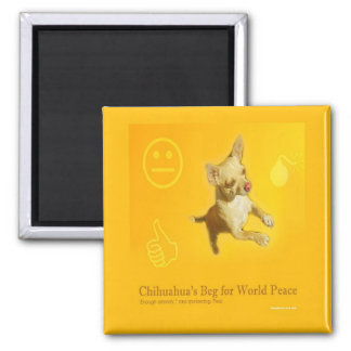 CHIHUAHUA PEACE MAGNET