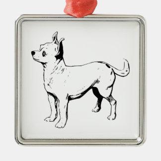 Chihuahua Pet Dog Ornament