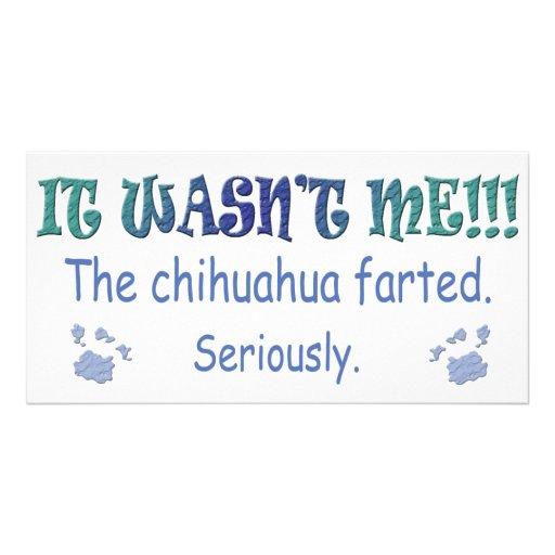 Chihuahua Photo Greeting Card