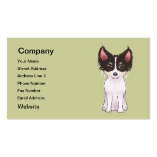 Chihuahua (picture) Double-Sided standard business cards (Pack of 100)