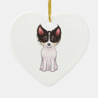 Chihuahua (picture) christmas ornament