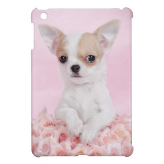 Chihuahua pink iPad mini case