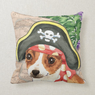 Chihuahua Pirate Throw Pillow