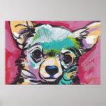 Chihuahua Pop Art Poster Print