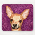 Chihuahua Portrait Mousepad