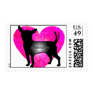 Chihuahua Postage Stamp