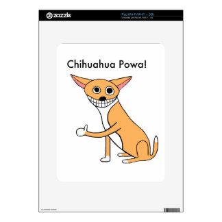 Chihuahua Powa! iPad Skins