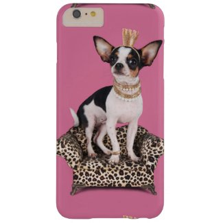 Chihuahua Princess Barely There iPhone 6 Plus Case