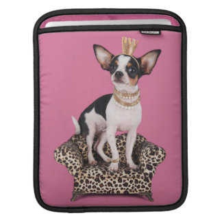 Chihuahua Princess iPad Sleeve