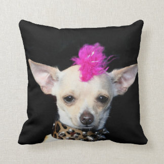Chihuahua punk dog American Mojo pillow