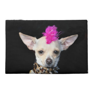 Chihuahua Punk dog Travel Accessories Bag