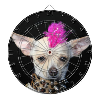 Chihuahua Punk dog Dartboard