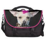 Chihuahua Punk dog Laptop Messenger Bag