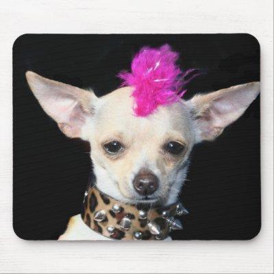 Chihuahua Punk mousepad mousepad
