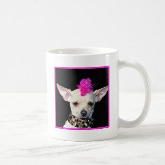 Chihuahua Punk Classic White Coffee Mug