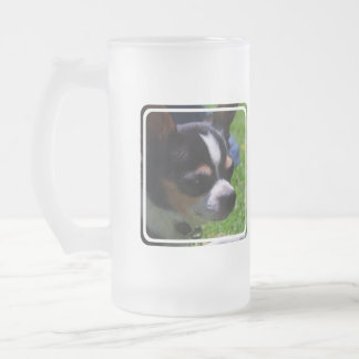 Chihuahua Pup Frosted Beer Mug