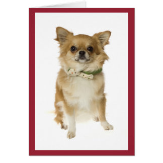 Chihuahua Puppy Dog Blank Notecard Stationery Note Card