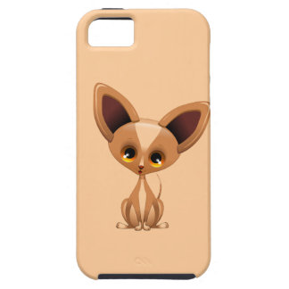 Chihuahua Puppy Dog Cartoon iPhone SE/5/5s Case