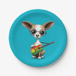 Bolivian Plates Zazzle  sc 1 st  Best Image Engine & Outstanding Guitar Paper Plates Gallery - Best Image Engine ...