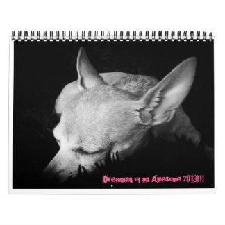 Chihuahua Puppy Dreams on a calendar
